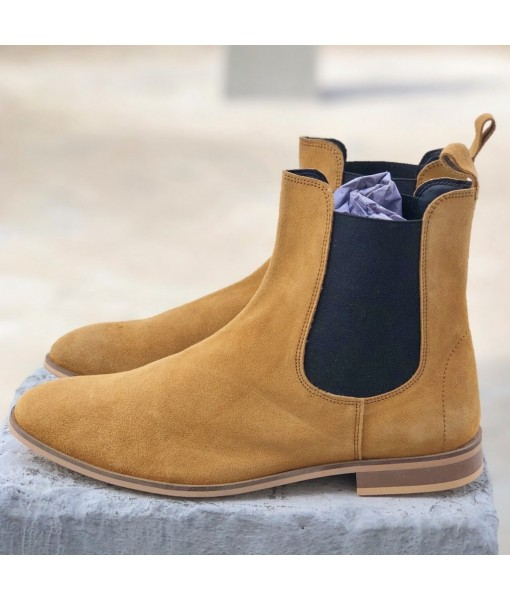 TAN SUEDE LEATHER CHELSEA
