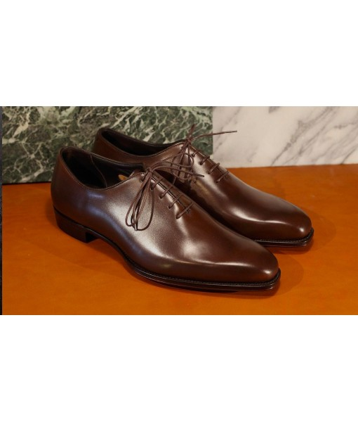 Dark BROWN FORMAL LEATHER SHOES FOR MENS