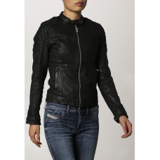 MOZRI 100% Genuine Leather Women's Jacket