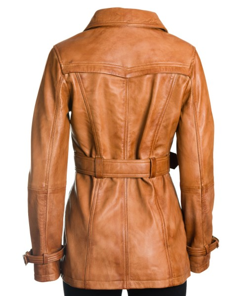 MOZRI  100% Genuine Leather Jacket for Women's