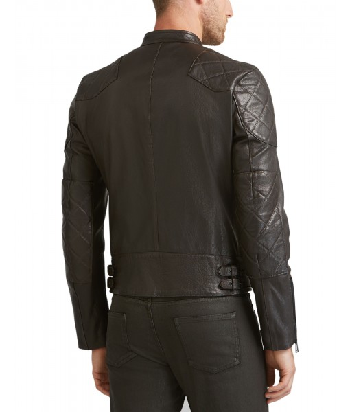 MOZRI 100% Genuine Leather Men's Jacket