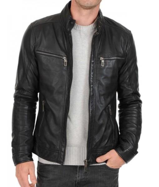 MOZRI 100% Genuine Leather Men's Jacket