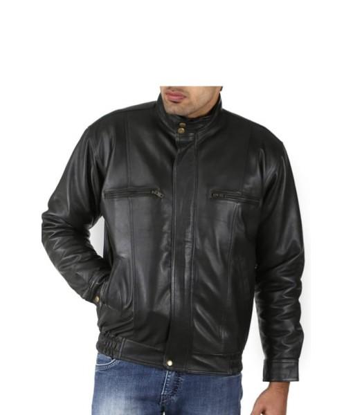 Mozri 100% Genuine Leather Jacket For Men