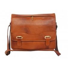 MOZRI 15 inch Laptop Messenger Bag  (TAN)