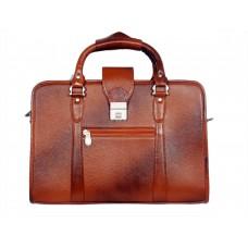 Mozri 100% Genuine Leather 15 inch Laptop Messenger Bag