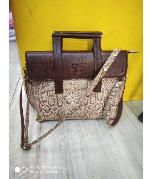 Mozri 100% original leather bag