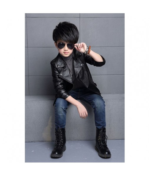Mozri 100% original leather jacket for kids